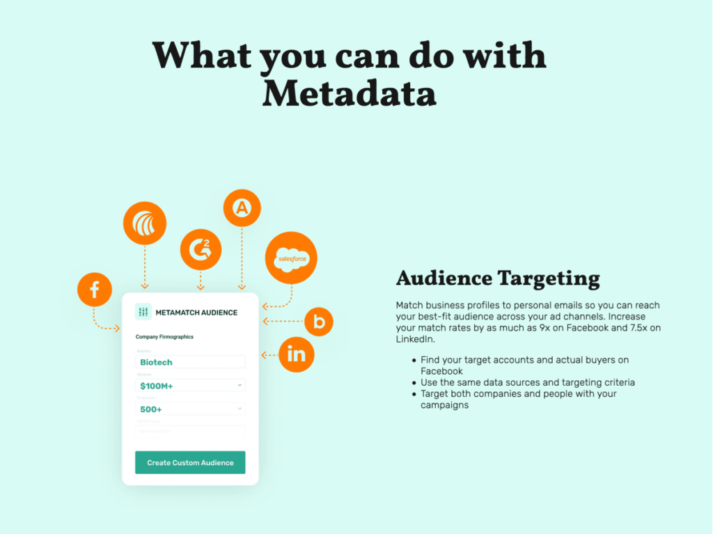 metadata what you can do