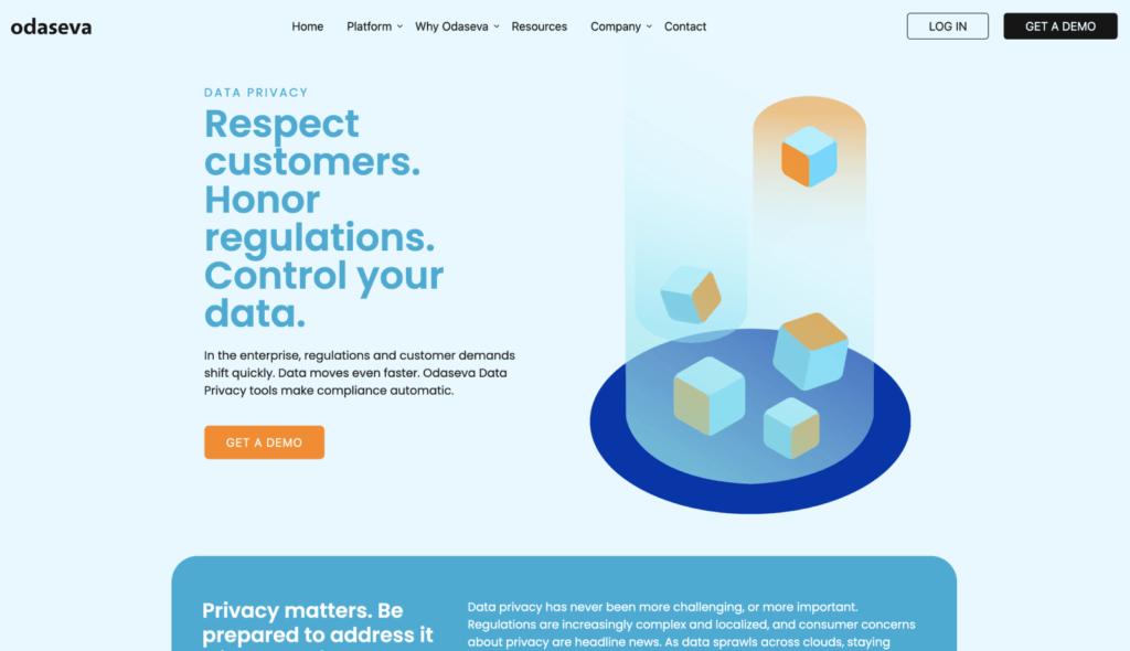 odaseva data privacy