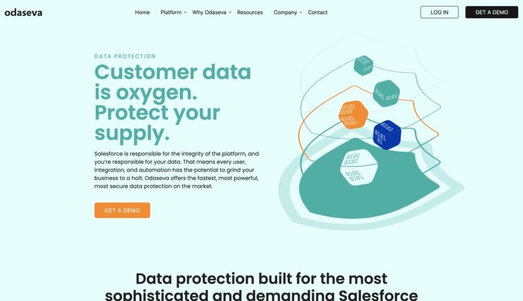 odaseva data protection